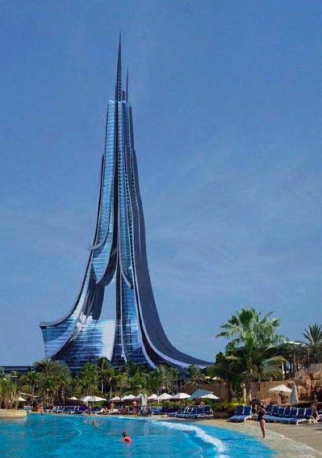 Arabian Dubai Future Buildings 2014 Wallpaper