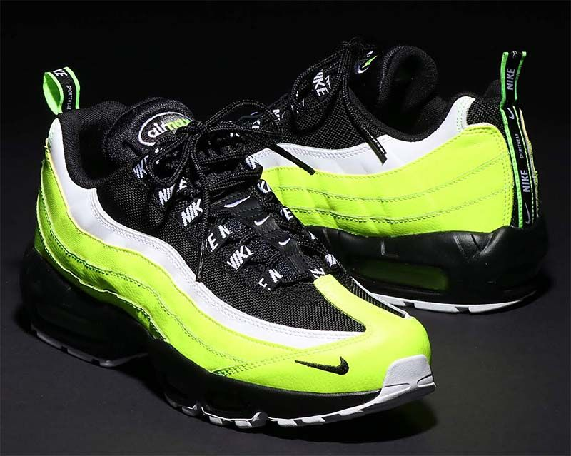 the best attitude 1fb38 cc884 NIKE AIR MAX 95 PRM  VOLT   BLACK-VOLT GLOW-BARELY VOLT  538416-701