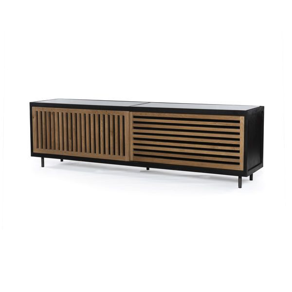 Best Scout Nimble Mid Century Modern Storage Media Console 400 x 300
