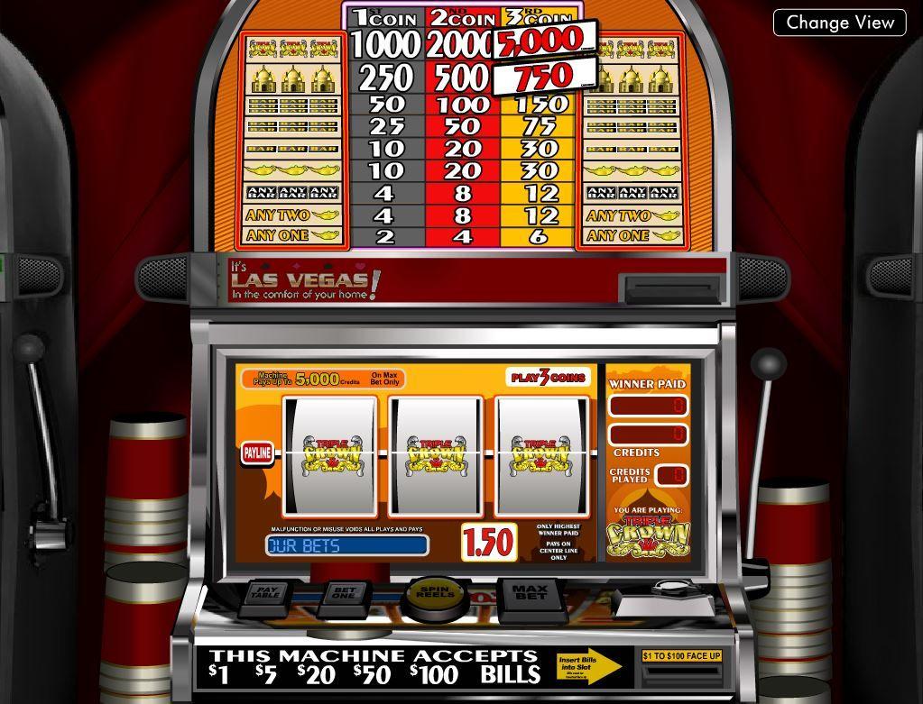 Three Crowns Kingdom Slot Machine