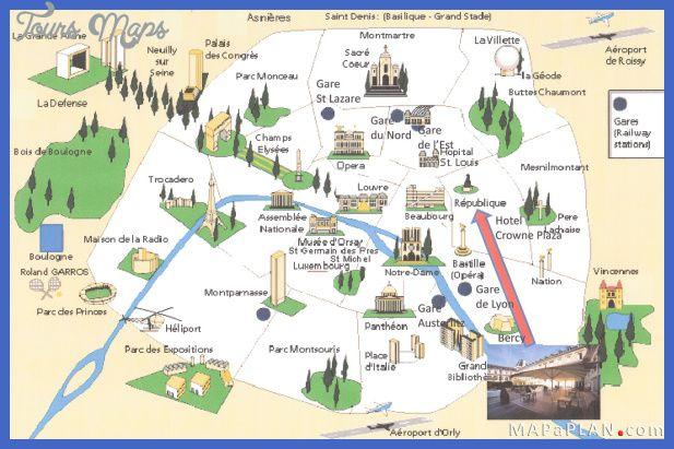 Nice Paris Map Tourist Attractions Tours Maps Pinterest: Paris Tourist Attractions Map At Slyspyder.com