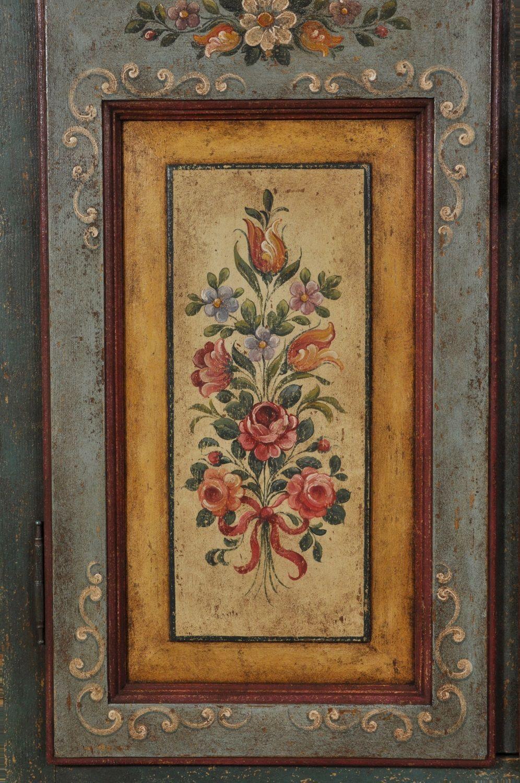 Armadio di lusso decorato a mano in stile 700 barocco ...