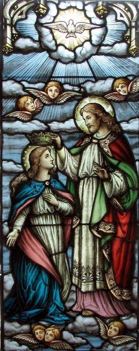 Stained Glass   Sts. Anne & Joachim Catholic Church   Fargo, ND