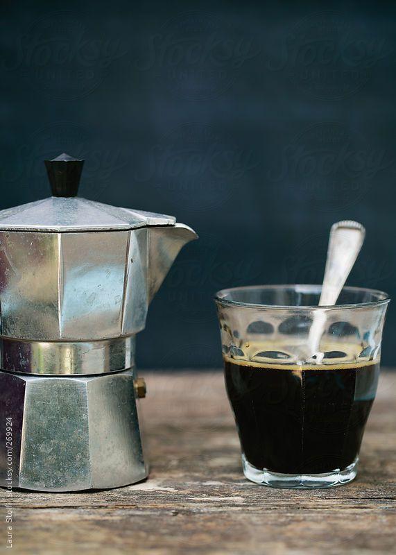 Caffè - That Kind Of Woman · cafeinevitable:   Coffeepot & Black Coffee (by...