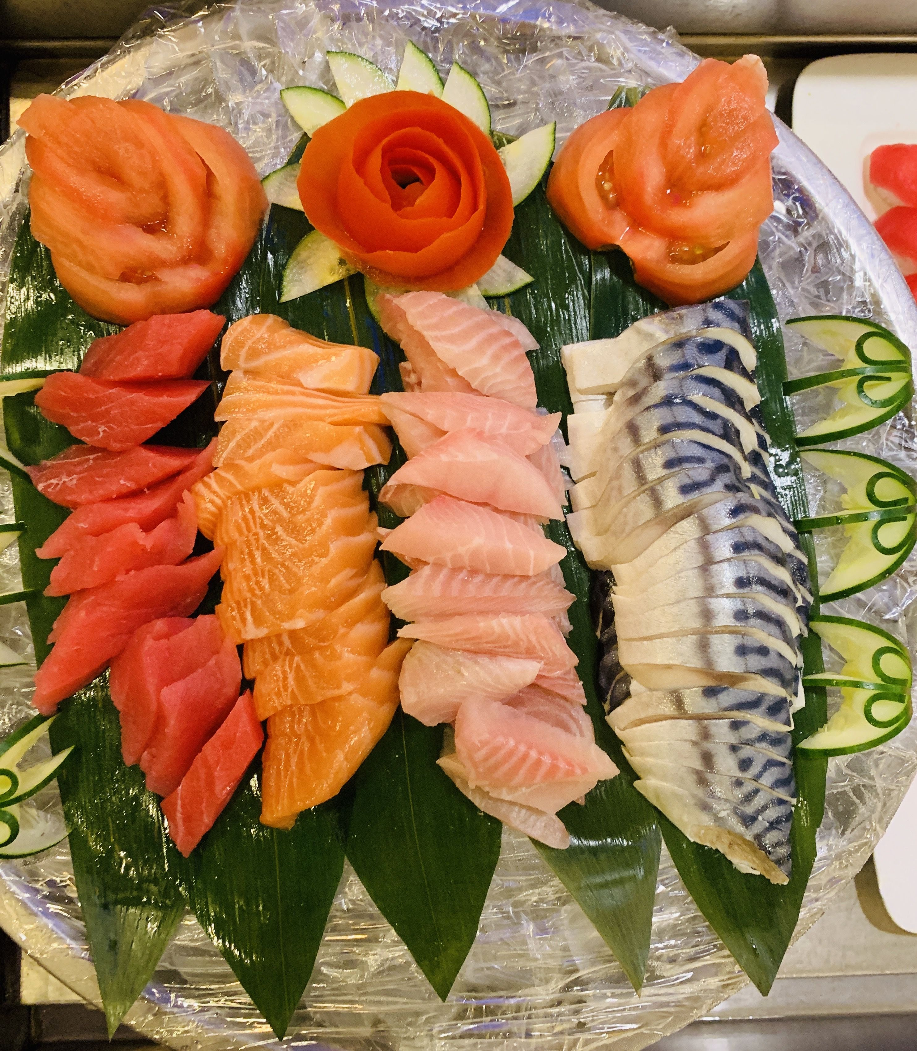 We Are A Month Away From Valentines Book Your Valentine S Party Or Order Your Next Catering Order With Koki Buffet In 2020 Salmon Sushi Japanese Food Food