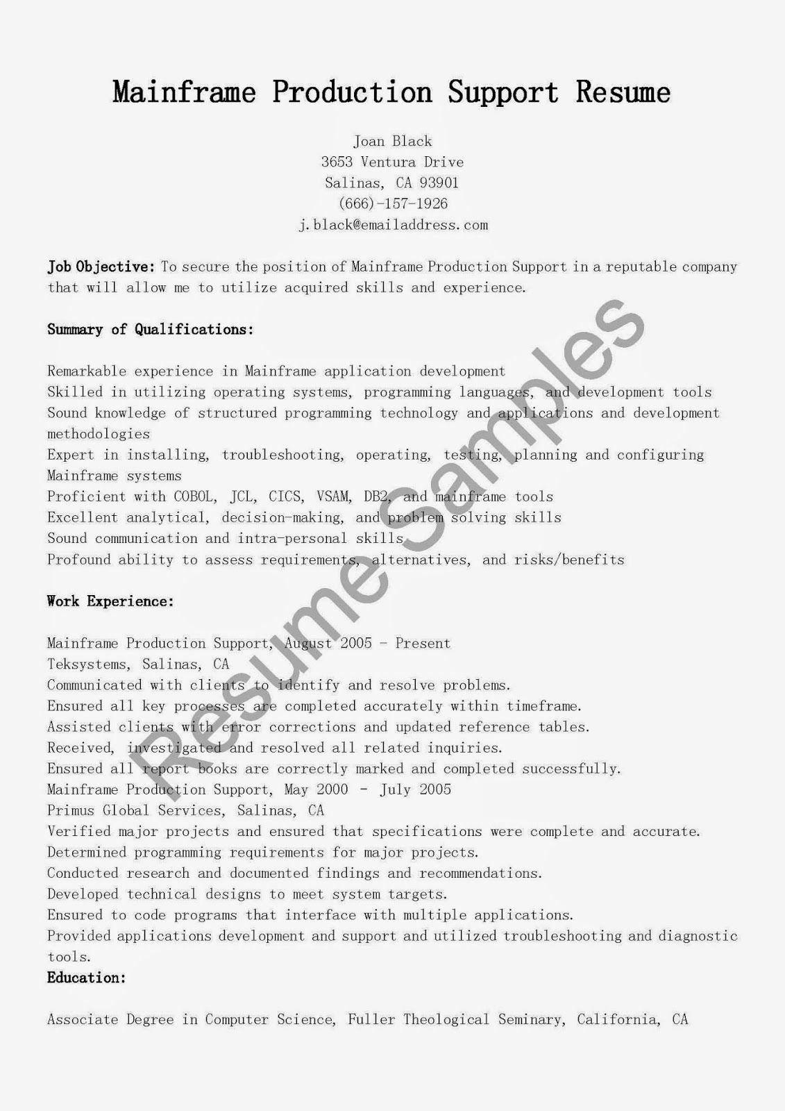 Java Production Support Resume Elegant Production Support Resume Sample Proposal Surat Tulisan