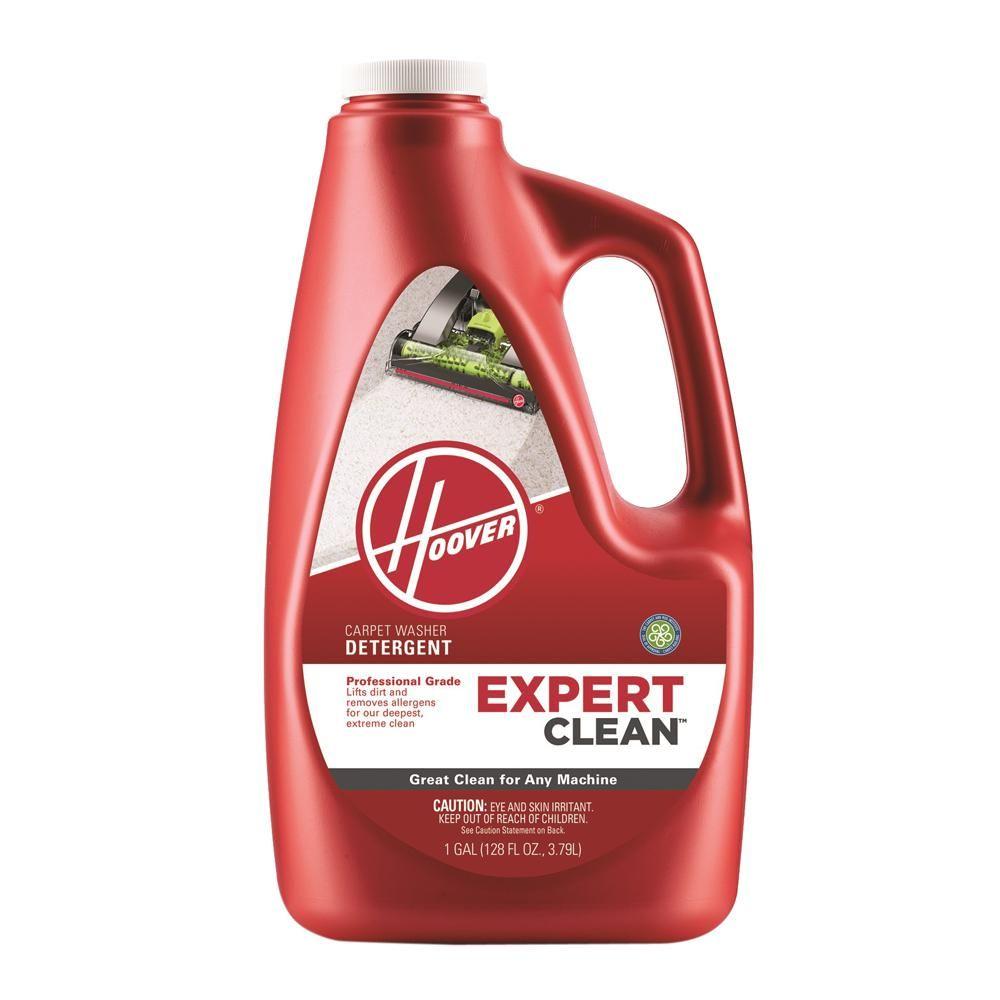 Hoover 128 oz expert clean carpet washing detergent