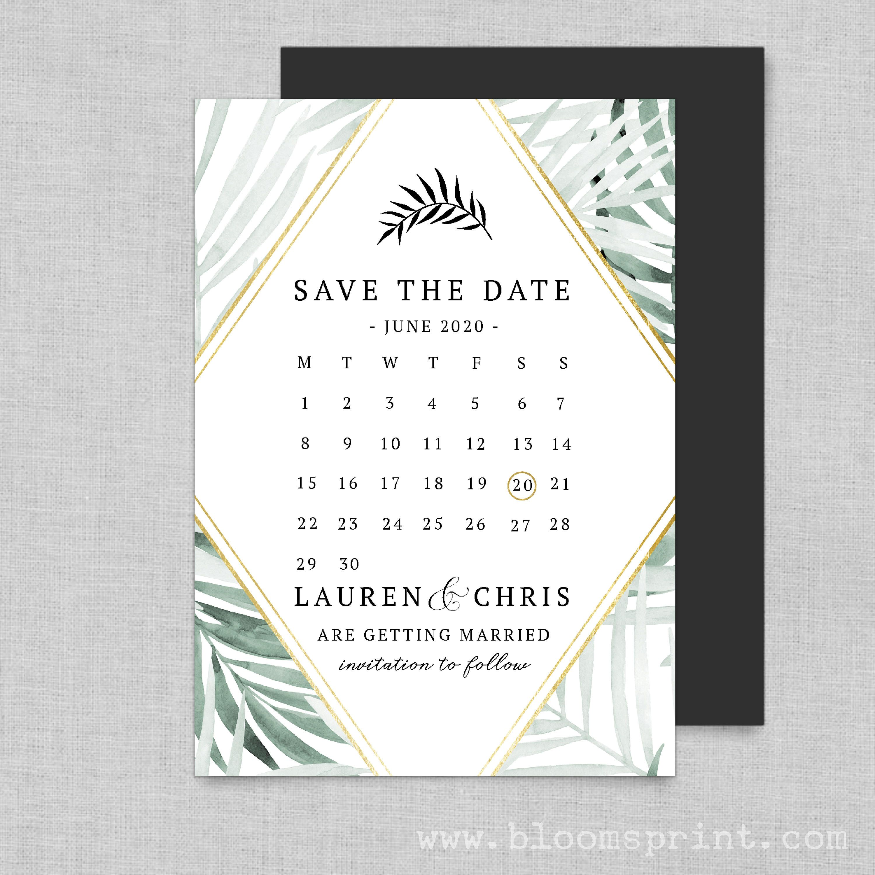 Save our date magnets, Calendar save the date cards, Wedding save ...