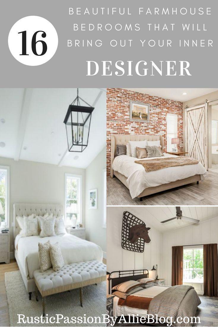 Farmhouse Master Bedrooms | Home Improvement Ideas | Pinterest ...