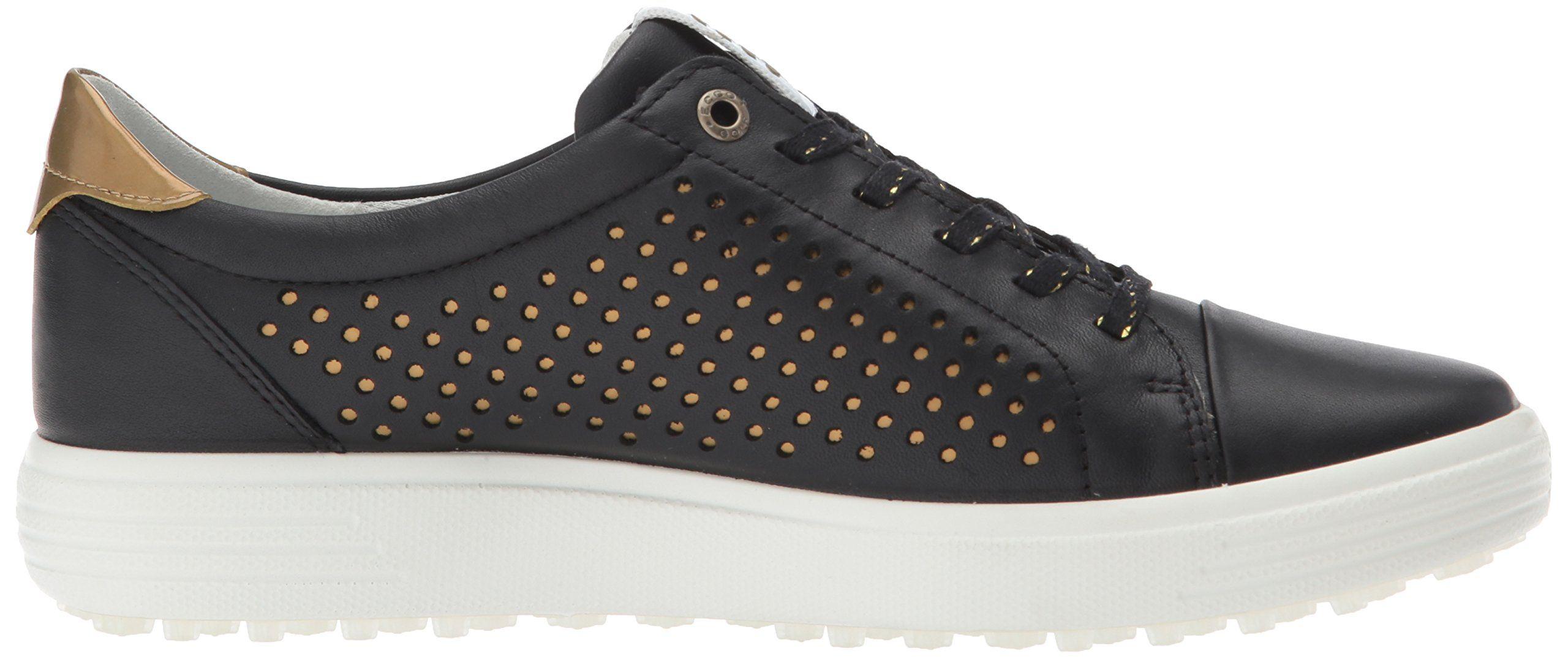 ECCO Womens Casual Hybrid Perforated Golf Shoe Black 38 EU 77.5 M US   To e8b93599da467