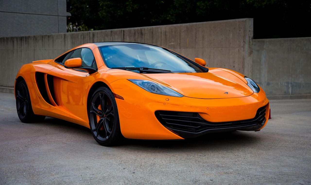 Orange McLaren MP412C Flickr Mclaren mp4, Unique cars