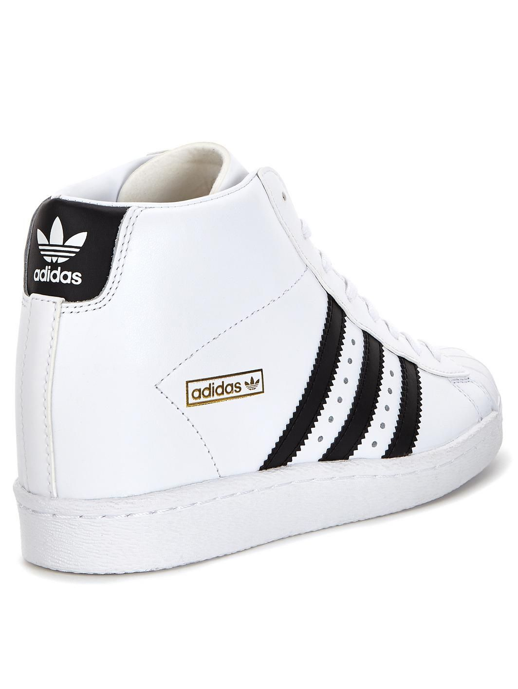 adidas superstar up trainners woman
