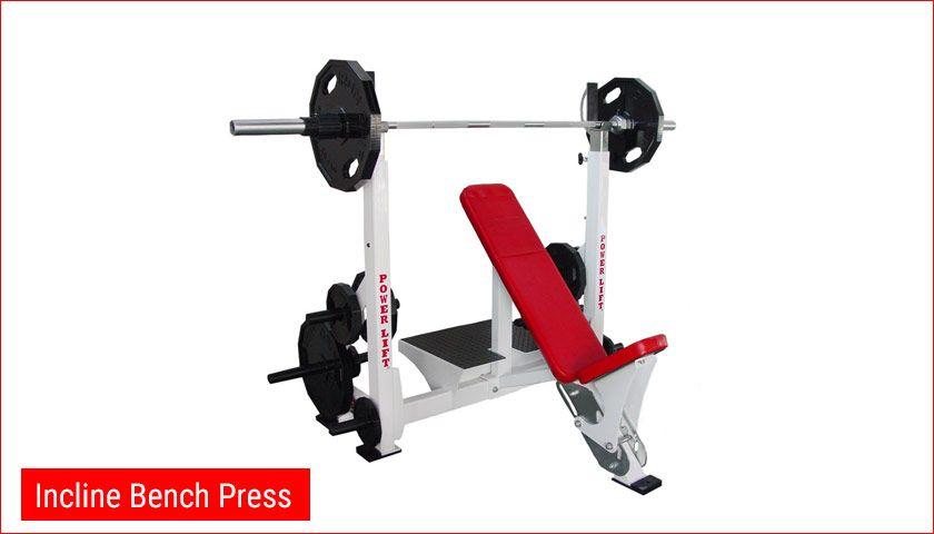 Incline Bench Press Gym Equipment Names Gym Equipment Guide Gym Machine Names