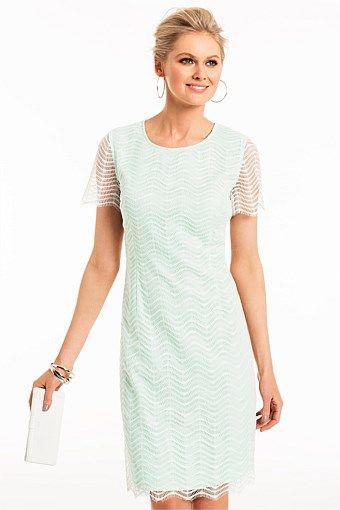 63ec62257f Grace Hill Scalloped Lace Dress | Briadsmade Dresses | Dresses, Lace ...