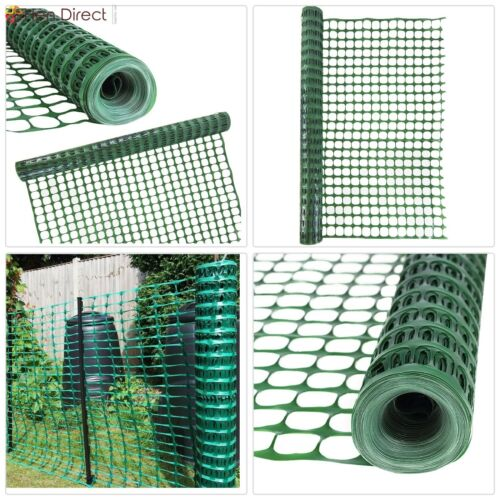 4 X 100 Mesh Safety Garden Netting Roll Temporary Fencing Above Ground Barrier 642709232292 Ebay Garden Garden Netting Fence Decor Air Conditioner Screen