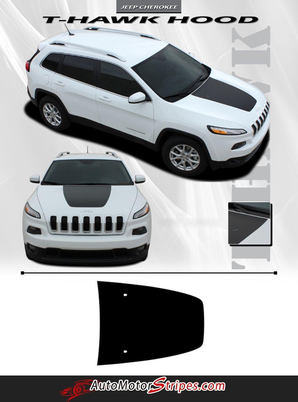 2014 2016 Jeep Cherokee T Hawk Factory Oem Style Center Hood