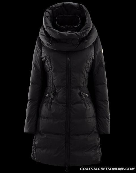 45bd89ef47b9 Warm Moncler Down Coats Women Deep Blue for You