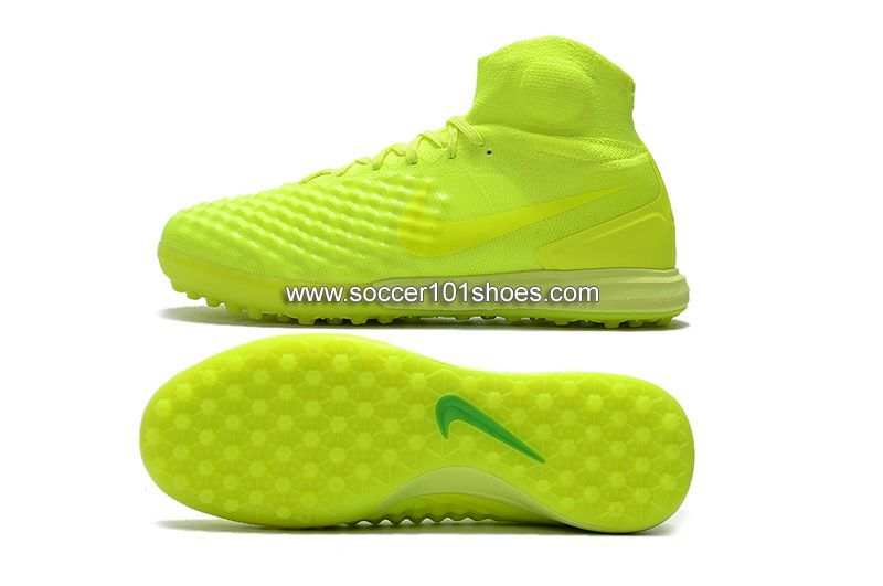 best service 1e349 34e5b Nike Men s Magistax Proximo II TF Turf Soccer Shoe Fluorescent Green  74.00