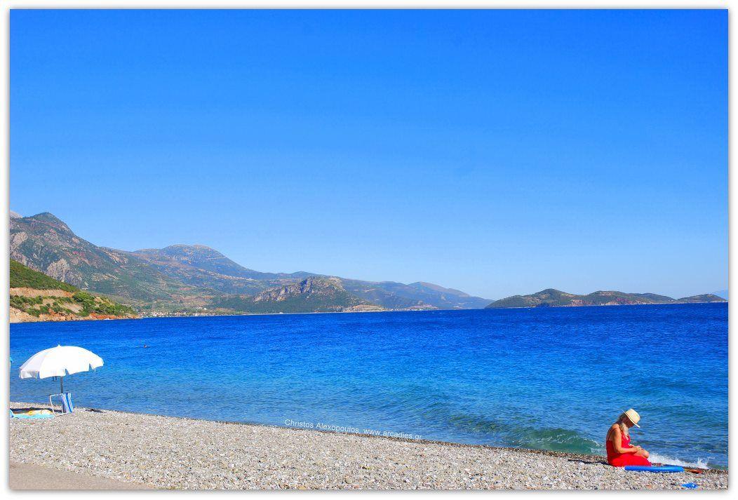 Moments at a greek coast.