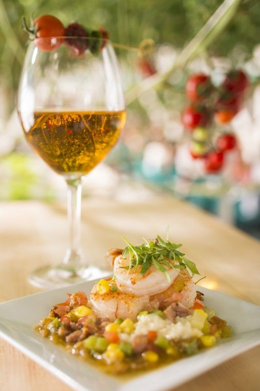 Florida Shrimp and Tomato Wine - Florida Fresh - World Showcase Promenade