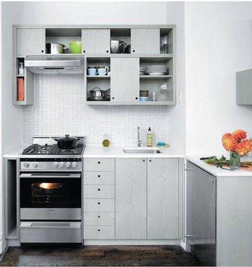 Cocina Pequeña en blanco | Cocinas | Pinterest | La vivienda ...