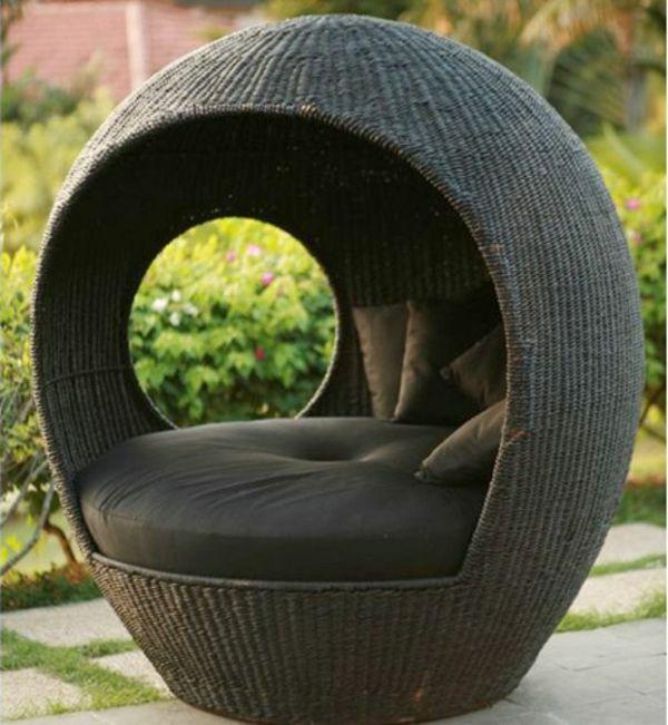 25 Outdoor Rattanmöbel Lounge Möbel Aus Rattan Und