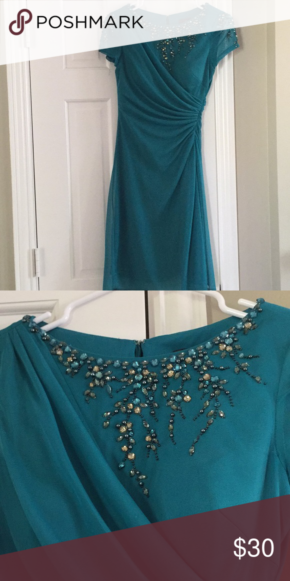 Adrianna Papell Knee Length Dress Knee Length Dress Dresses Semi Formal