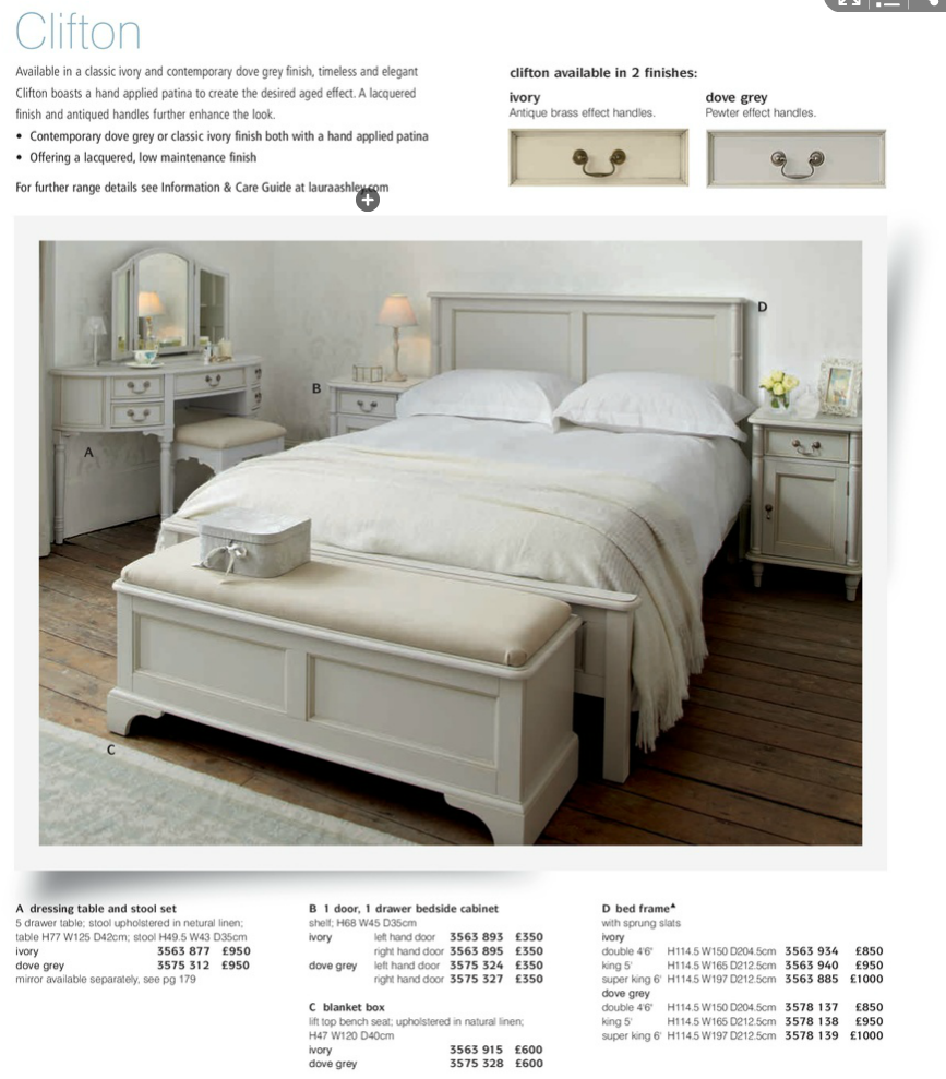 Laura Ashley bed | Tirmoghan | Pinterest | Laura ashley