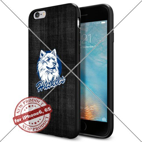 WADE CASE UConn Huskies Logo NCAA Cool Apple iPhone6 6S Case #1634 Black Smartphone Case Cover Collector TPU Rubber [Black] WADE CASE http://www.amazon.com/dp/B017J7G6JA/ref=cm_sw_r_pi_dp_3r0vwb0CDYR5X