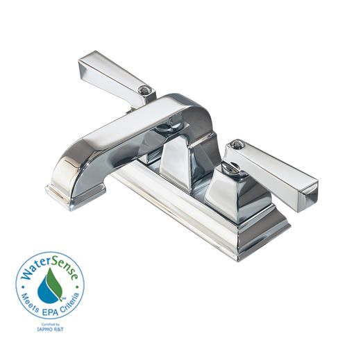 142 American Standard Town Square Bathroom Sink Faucet 4cc Metal