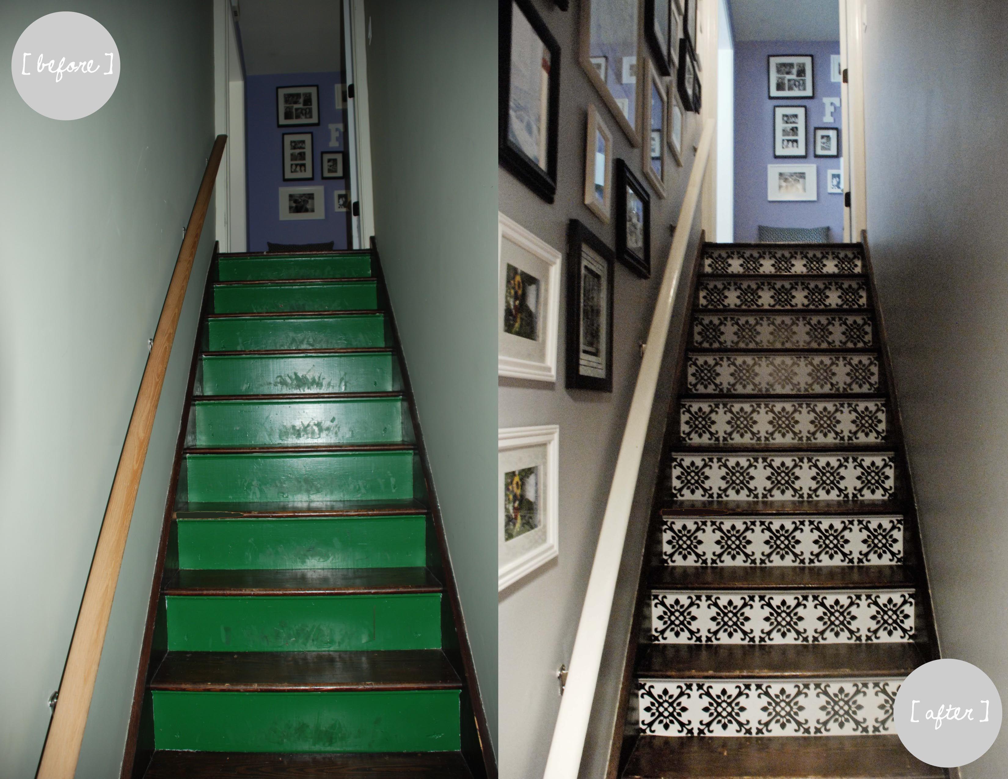 Home Makeover   Basement Staircase Progress