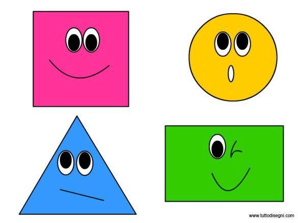 Geometrické tvary | Shapes preschool crafts, Shapes preschool, Preschool  activities