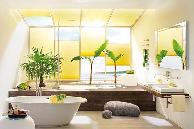 Sonnenund Hitzeschutz fürs Haus Wohnen, Badezimmer