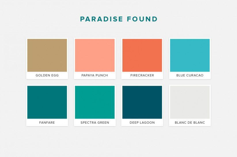 The Tropical Wedding Colors Blowing Up In 2019 Tropical Wedding Theme Tropical Wedding Color Palette Tropical Wedding