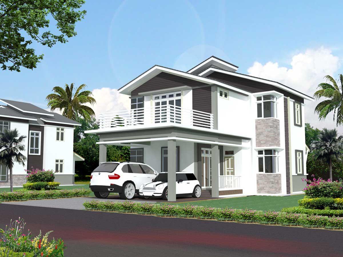 Keuntungan desain rumah tingkat minimalis http www for Design minimalis