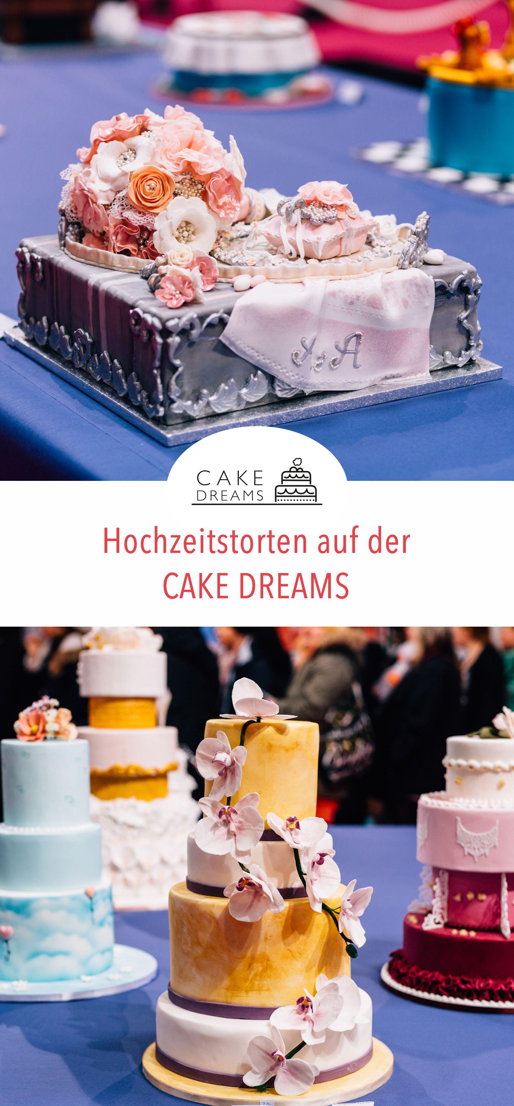 Auf der CAKE DREAMS Messe in Dortmund werden jährlich