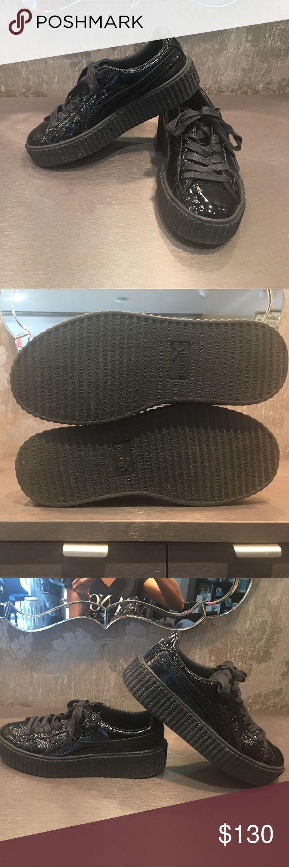 24 HOUR SALE FENTY PUMA RIHANNA Pâté leather worn once 7 12 PUMA FENTY BY R 24 HOUR SALE FENTY PUMA RIHANNA Pâté leather worn once 7 12 PUMA FEN...