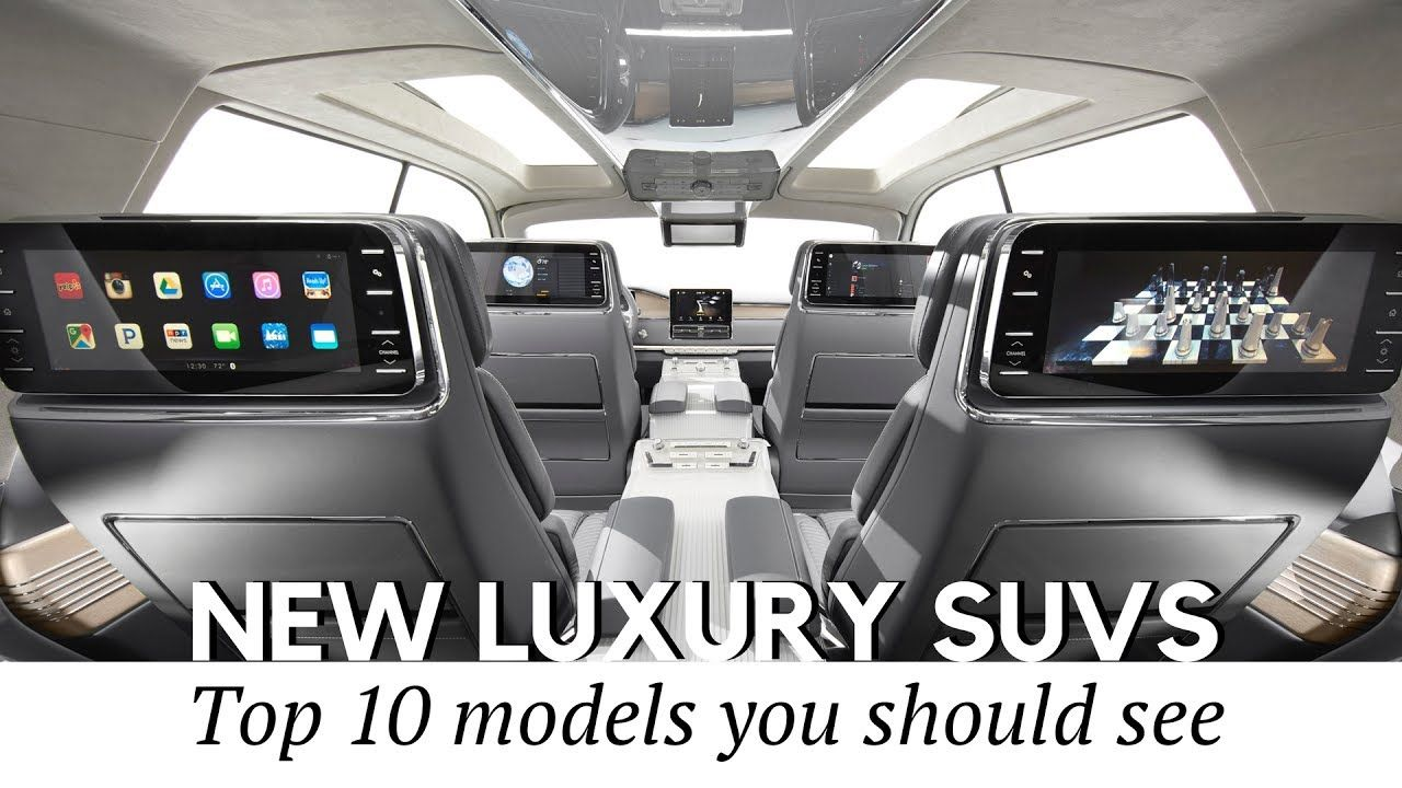 Top 10 New Luxury Suv Coming In 2017 2018 Car Interiors