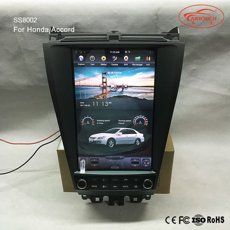 Tesla Vertical screen Indash Auto Navigation Multimedia