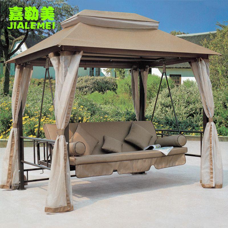 al aire libre muebles de jardín swing silla mecedora de la cama de ...