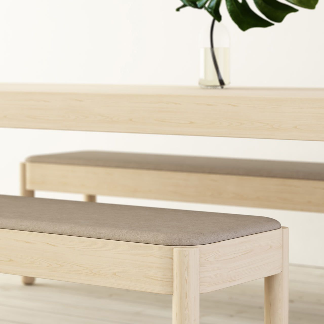 light wood furniture exclusive. Wakufuru Brings Sound Absorption To Wood Tables And Benches Light Furniture Exclusive E