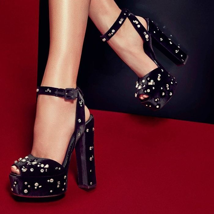 b6079731ad7ad GIUSEPPE ZANOTTI DESIGN Dazzling Betty platform sandals | Sandals ...