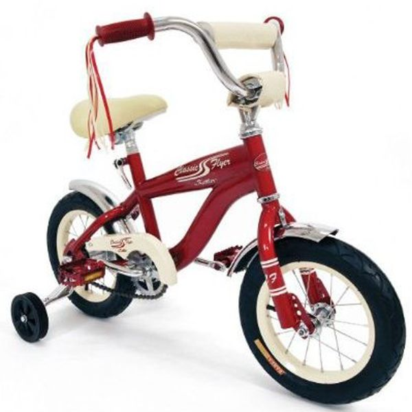 Classic Flyer Retro Bike 12 Kids Bicycle Accessories Retro Bicycle Kids Bicycle