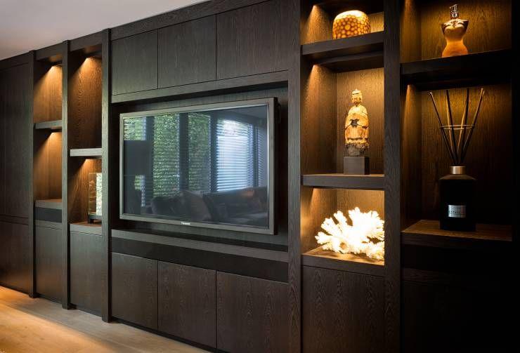 Afbeeldingsresultaat voor inbouwkast woonkamer tv | Kasten | Pinterest