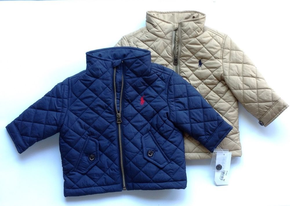 7b0f2d706a Ralph Lauren Polo Baby Boy Quilted Jacket in Clothing, Shoes ...