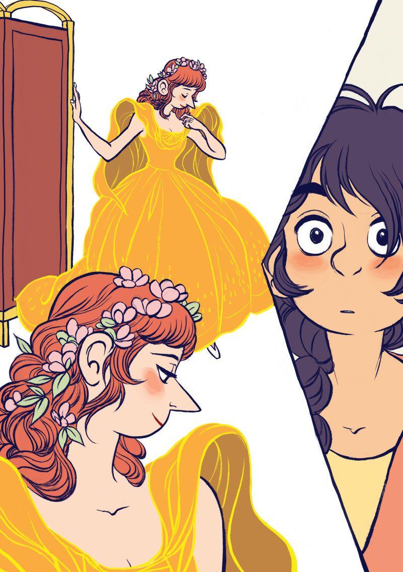 A gender-fluid fable begins in this The Prince And The Dressmaker exclusive  en 2020 (con imágenes)   Ilustraciones, Dibujos