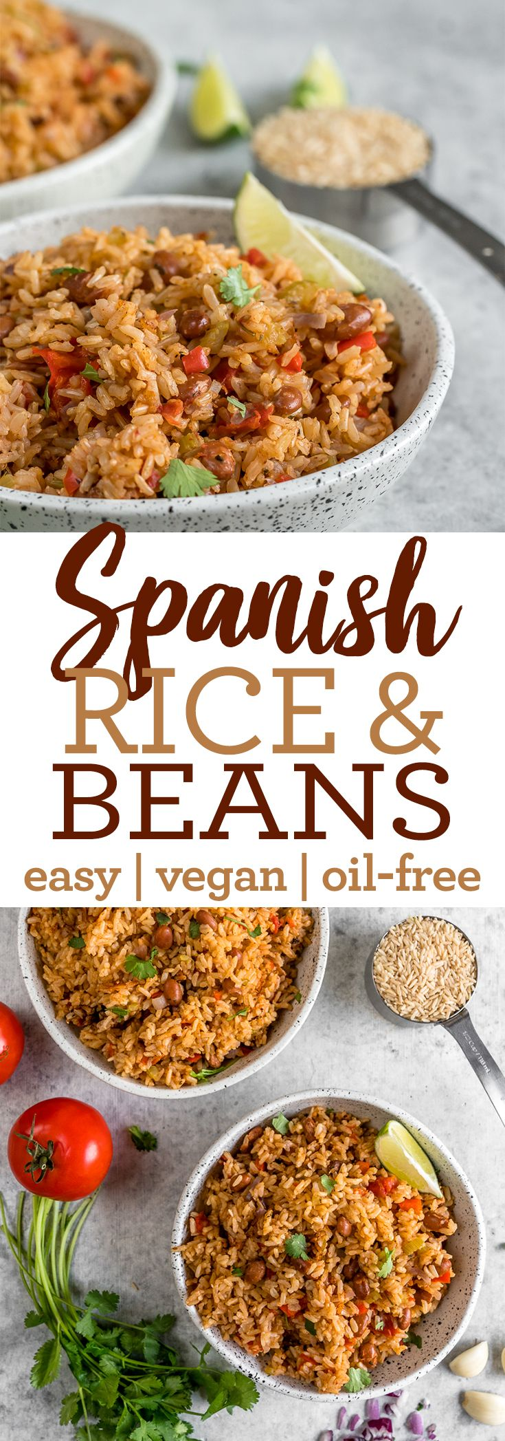 Vegan Spanish Rice And Beans Healthy Oil Free