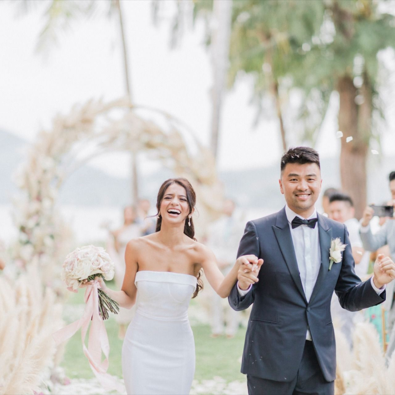 Lee Grebenau Bride An Elegant Botanical Wedding In Phuket Thailand In 2020 Thailand Wedding Bride Wedding