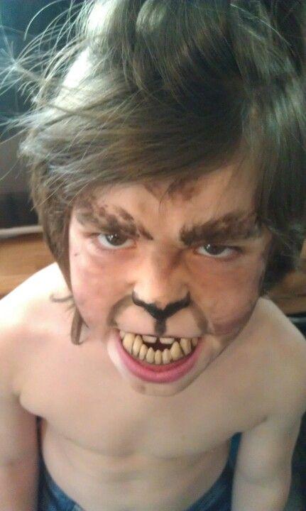 Baby werewolf | Halloween make up & costumes by me | Pinterest ...