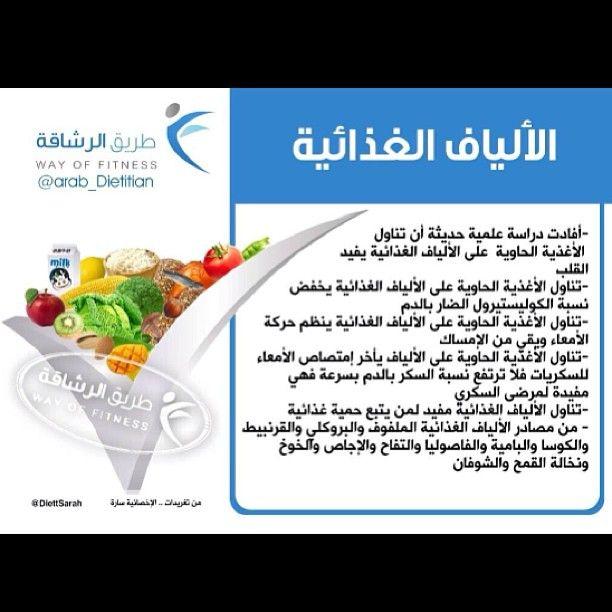 فوائد الألياف الغذائية طريق الرشاقة Arabic Resources Dietitian Facebook Analytics